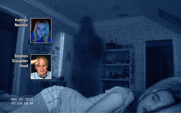 Episode No. 15: Paranormal Activity 4 Interview with Kathryn Newton (2012)