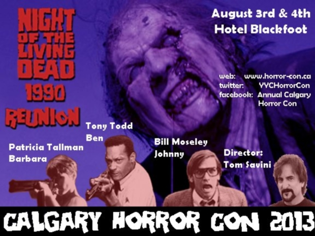 Night of the Living Deads '90 Reunion @ Calgary Horror Con 2013!