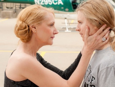 Patricia Clarkson and Brit Marling in THE EAST