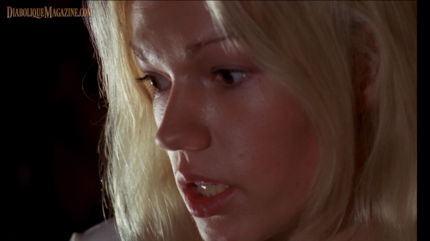 Brigitte Lahaie in Jean Rollin's Night of the Hunted