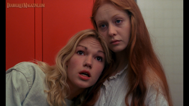 Brigitte Lahaie and Dominique Journet in Jean Rollin's Night of the Hunted