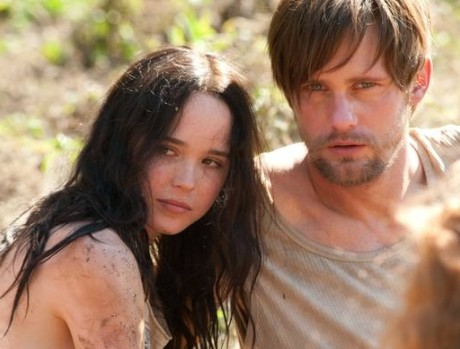 Ellen Page and Alexander Skarsgaard in THE EAST