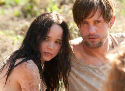 """The East"" Roundtable Discussions: Alexander Skarsgaard and Ellen Page"