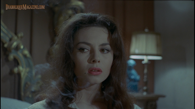 Screencap from Kino Lorber's release of I tre volti della paura (Black Sabbath) 1963