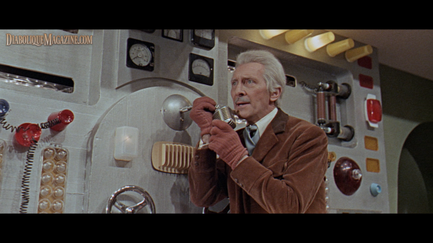 Peter Cushing in Daleks – Invasion Earth: 2150 A.D.
