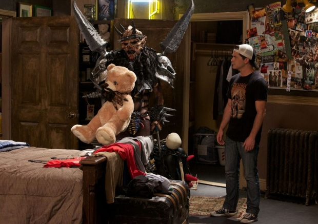 "Dave Brockie and Adam Green in ""Holliston"""