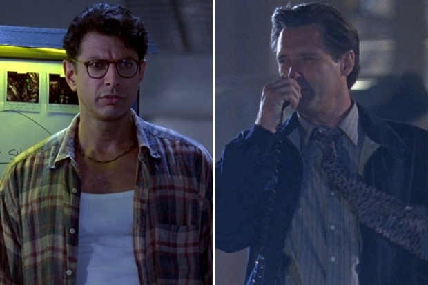 "Jeff Goldblum and Bill Pullman in ""Independence Day"""
