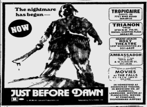 "Diabolique's Camp Carnage: ""Just Before Dawn"" (1981)"