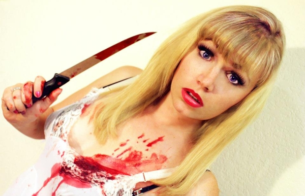 Genre Filmmaker/Actress Jessica Cameron, who will be at the 2013 Calgary Horror Con