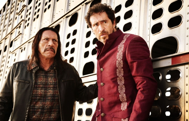 "Danny Trejo and Demian Bichir in ""Machete Kills"""