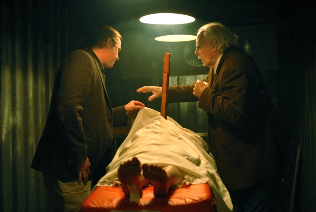 "Val Kilmer and Bruce Dern in Francis Ford Coppola's ""Twixt"""