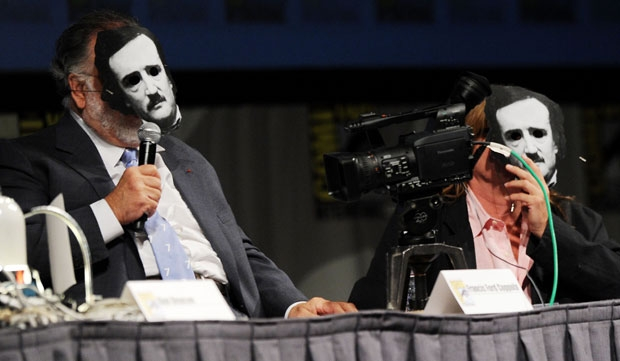 "Francis Ford Coppola and Val Kilmer bringing ""Twixt"" to the 2011 San Diego Comic-Con"