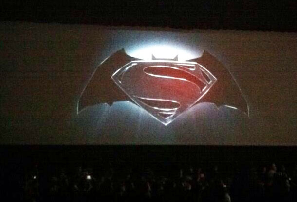 Logo for untitled Batman / Superman film.