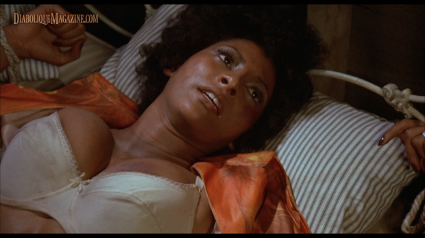 Pam Grier in Jack Hill's Foxy Brown (1974)