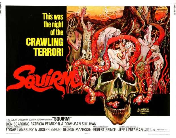"The Poster for Lieberman's ""Squirm"""