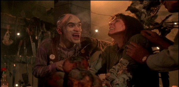 "Bill Moseley in ""The Texas Chainsaw Massacre 2"""