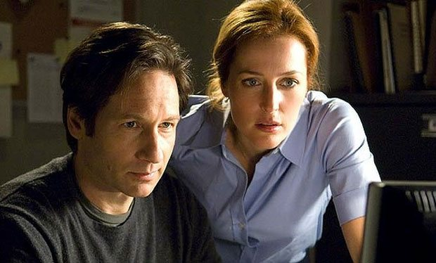 """David Duchovny and Gillian Anderson on """"The X-Files"""""""