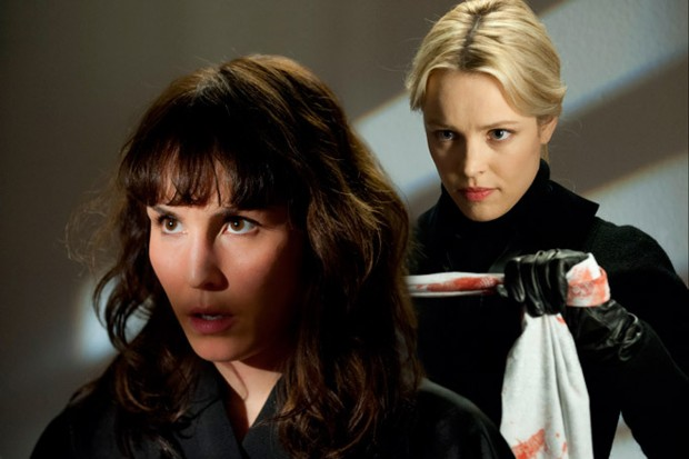 "Noomi Rapace and Rachel McAdams in Brian De Palma's ""Passion"""