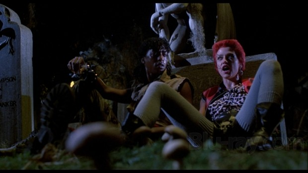 """Linnea Quigley as 'Trash' in """"Return of the Living Dead"""""""