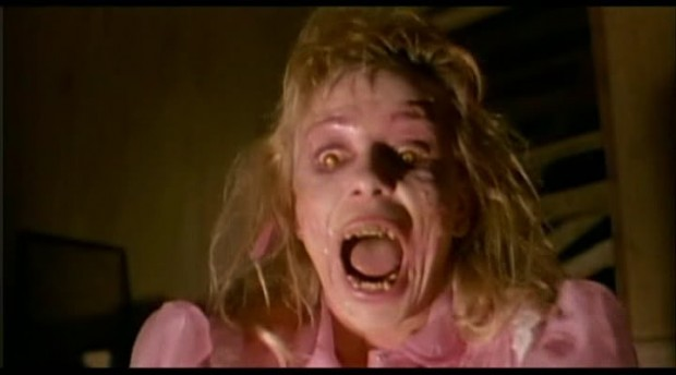 """Linnea Quigley as 'Suzanne' in """"Night of the Demons"""""""