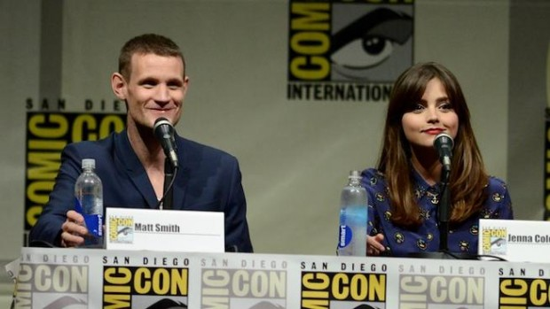 "The ""Doctor Who"" 50th Anniversary Panel at the 2013 San Diego Comic Con."