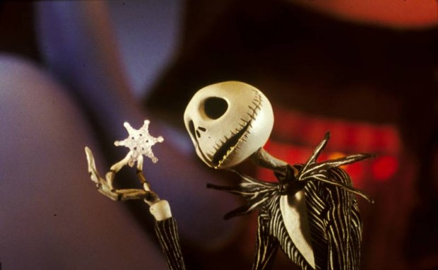 "Jack Skellington from ""A Nightmare Before Christmas"", as voiced by Sarandon"