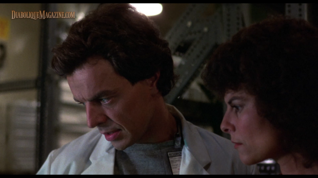 Ray Wise and Adrienne Barbeau in Wes Craven's Swamp Thing (1982)