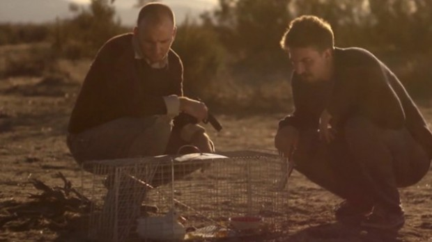 "Simon Barrett and Adam Wingard in ""The ABCs of Death"""