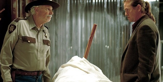 "Bruce Dern and Val Kilmer in ""Twixt"""