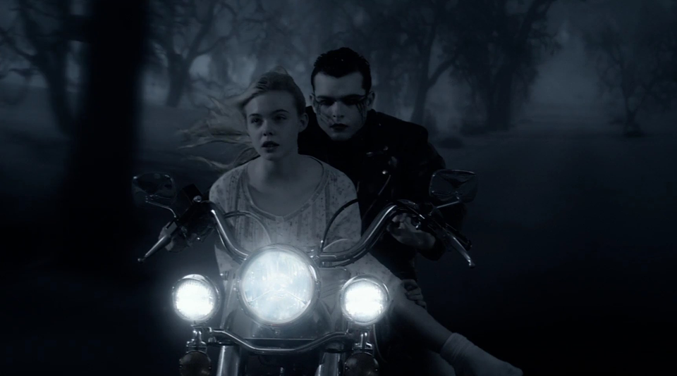 "Elle Fanning and Alden Ehrenreich in ""Twixt"""
