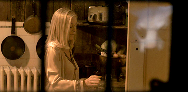 "Barbara Crampton in ""You're Next"""
