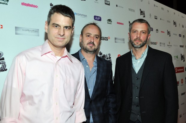 Jason Lapeyre, Producer Lewin Webb and Robert Wilson