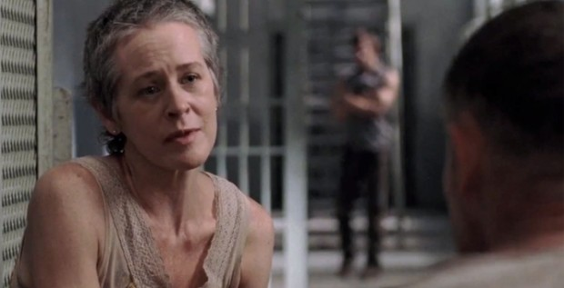 "Melissa McBride on ""The Walking Dead"""