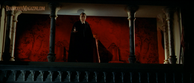 Christopher Lee in Dracula: Prince of Darkness (1966) [Click to enlarge]