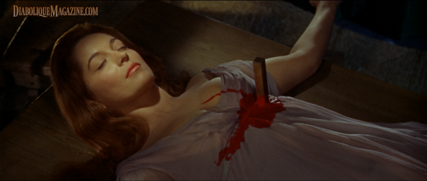 Barbara Shelley in Dracula: Prince of Darkness (1966) [Click to enlarge]