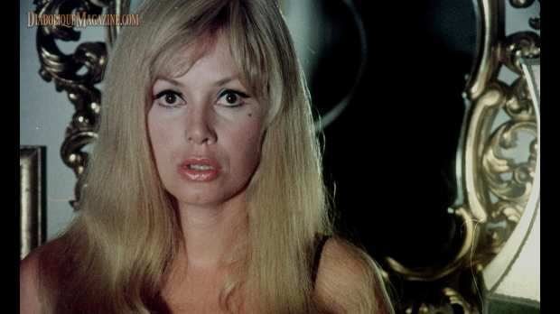Colette Giacobine in Jess Franco's Nightmares Come at Night (1970)