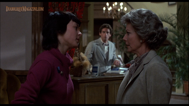Vera Miles and Meg Tilly in Psycho II (1983) [Click to enlarge]