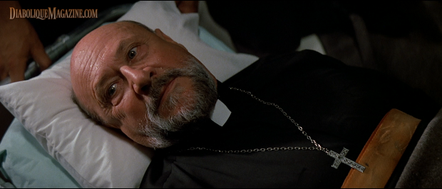 Donald Pleasence in Prince of Darkness (1987) [Click to enlarge]