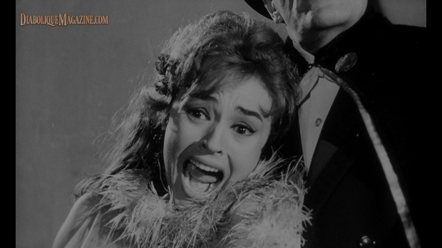 Diana Lorys in The Awful Dr. Orlof (1962) [Click to enlarge]