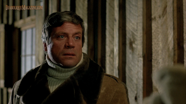 Oliver Reed in David Cronenberg's The Brood (1979) [Click to enlarge]