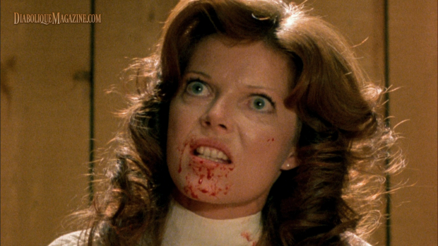 Samantha Eggar in David Cronenberg's The Brood (1979) [Click to enlarge]