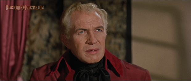 Vincent Price in Roger Corman's The Fall of the House of Usher (1960)