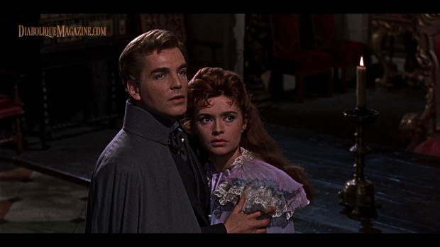 The Brides of Dracula (1960) FINAL CUT Blu-ray screencap in 2.00:1 aspect ratio. [Click to enlarge]