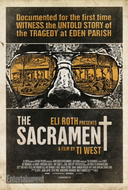 "First Poster for ""The Sacrament"", via Entertainment Weekly"