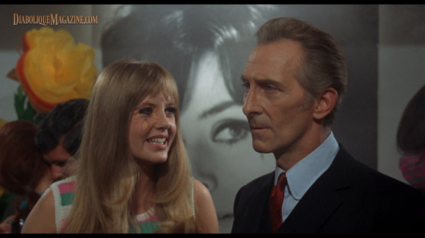 Peter Cushing in Corruption (1968) [Click to enlarge]