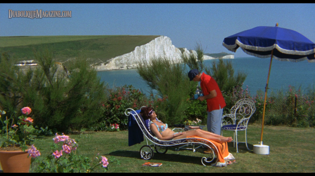 Peter Cushing and Sue Lloyd in Corruption (1968) [Click to enlarge]
