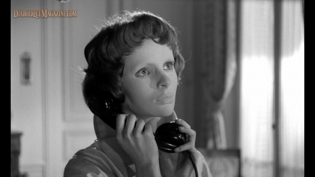 Edith Scob in Georges Franju's Eyes Without a Face (1960) [Click to enlarge]