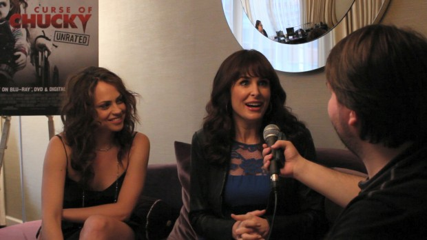 "Fiona Dourif and Danielle Bisutti of ""Curse of Chucky"""