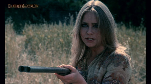 Linda Hayden in House on Straw Hill (1976) [Click to enlarge]