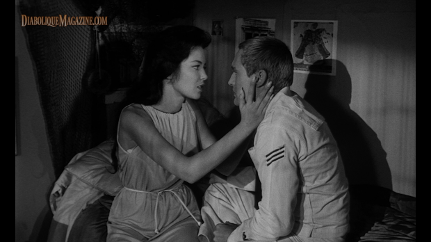 Dennis Hopper and Linda Lawson in Night Tide (1961) [Click to enlarge]